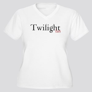 Twilight Fan Women's Plus Size V-Neck T-Shirt