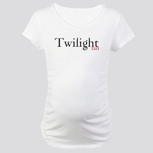 Twilight Fan Maternity T-Shirt