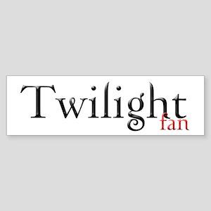 Twilight Fan Bumper Sticker