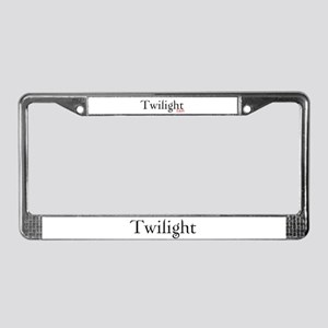 Twilight Fan License Plate Frame
