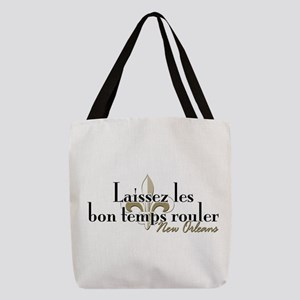 Laissez les NOLA Polyester Tote Bag