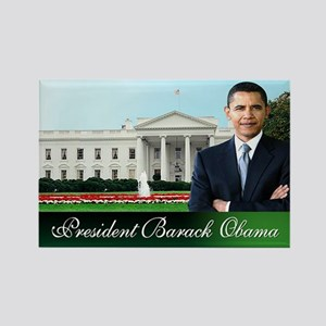 Mr. President (white house) Rectangle Magnet