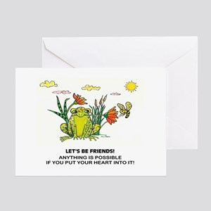 Frog Fun Greeting Card
