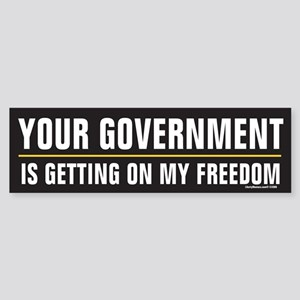 Government Bumper Sticker