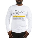 Emerson Quote: Inspiration Long Sleeve T-Shirt