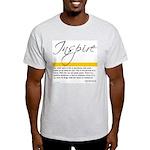 Emerson Quote: Inspiration Light T-Shirt