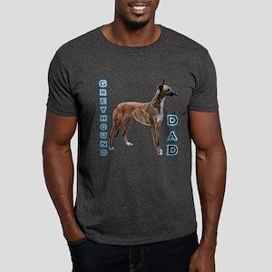 Greyhound Dad4 Dark T-Shirt