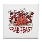 Crab Feast Tile Coaster