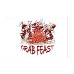 Crab Feast Mini Poster Print