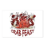 Crab Feast Postcards (Package of 8)