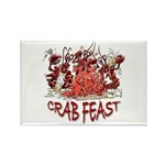 Crab Feast Rectangle Magnet (10 pack)