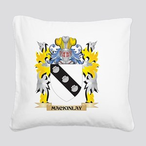 Mackinlay Coat of Arms - Fami Square Canvas Pillow