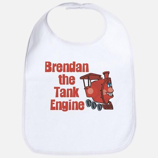 Brendan the Tank Engine Bib