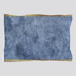 Blue Golden Egypt Pillow Case