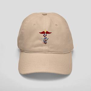 Veterinary Caduceus Cap