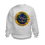 USS HAYNSWORTH Kids Sweatshirt