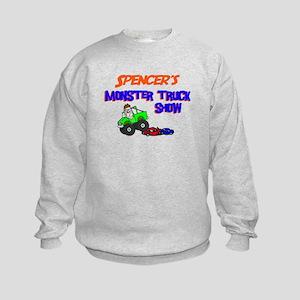 Spencer's Monster Truck Kids Sweatshirt