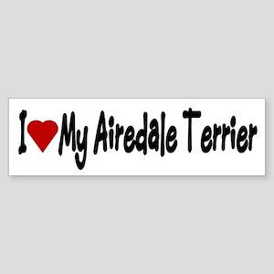 Airedale Terrier Bumper Stickers (Bumper)