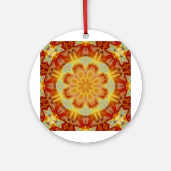 'Emperor's Kaleidoscope III Ornament (Round)