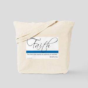 Ralph Waldo Emerson on Faith Tote Bag