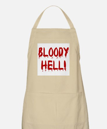 BLOODY HELL! BBQ Apron