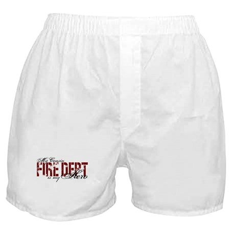My Cousin My Hero - Fire Dept Boxer Shorts