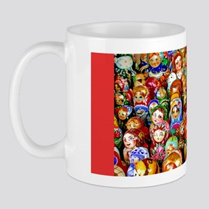 Ukrainian Holiday Matrushka Mug