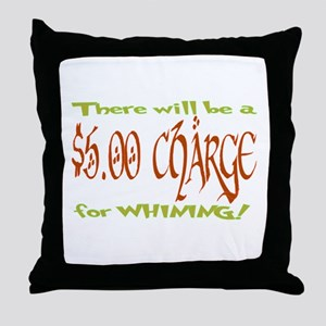 $5 Charge Throw Pillow