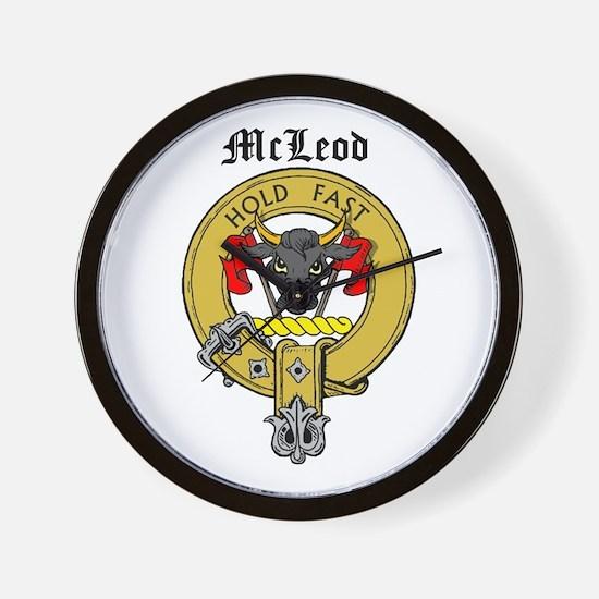 Clan McLeod Wall Clock