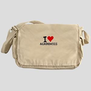 I Love Academics Messenger Bag