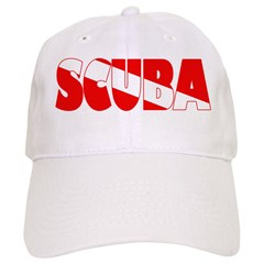 https://i3.cpcache.com/product/330521491/scuba_text_flag_baseball_cap.jpg?color=White&height=240&width=240