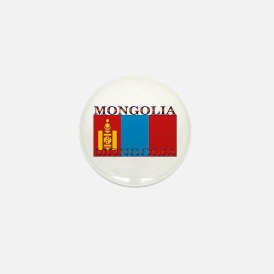 Mongolia Mini Button