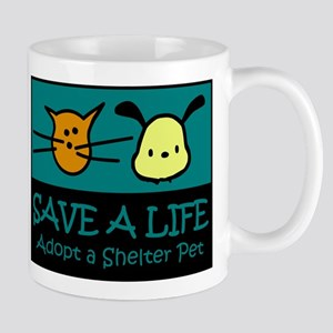 Save A Life Adopt a Pet Mug