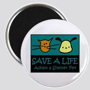 Save A Life Adopt a Pet Magnet