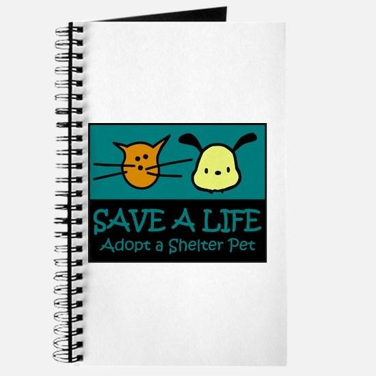 Save A Life Adopt a Pet Journal