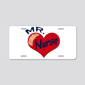Mr. Nurse Aluminum License Plate