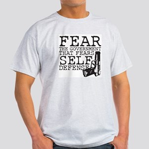 Fear The Government Light T-Shirt