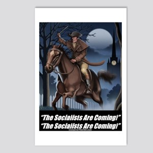 """Socialists Are Coming"" Postcards (Package of 8)"
