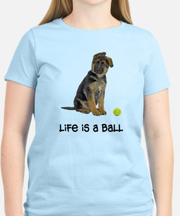 German Shepherd Life Women's Light T-Shirt