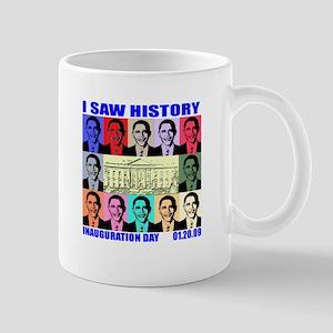 I Saw History, Inauguration D Mug