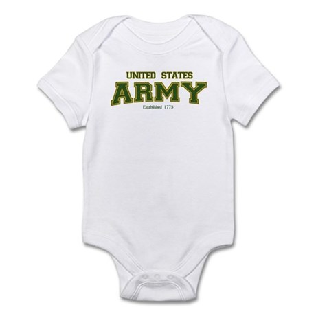 US Army Infant Bodysuit