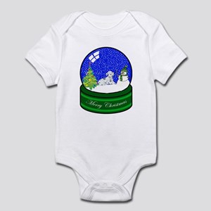 Snow Globe Dalmatian Infant Bodysuit