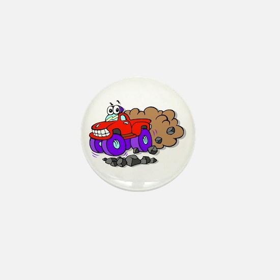 Monster Truck Mini Button (10 pack)