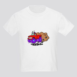 Monster Truck Kids Light T-Shirt