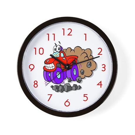 Monster Truck Wall Clock