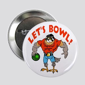"Bowling Falcon 2.25"" Button"