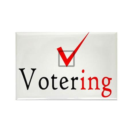 Votering Rectangle Magnet