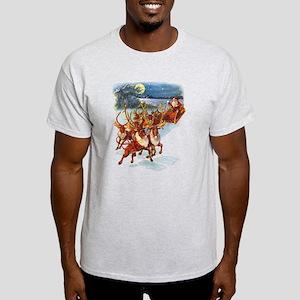 SANTA & HIS REINDEER Light T-Shirt