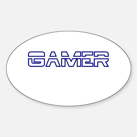 Gamer Oval Decal