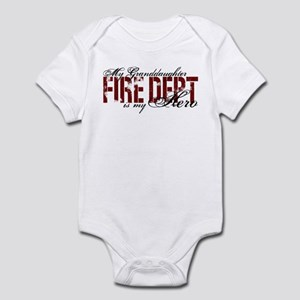 My Granddaughter My Hero - Fire Dept Infant Bodysu
